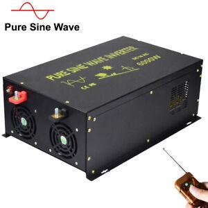 Power-Inverter-6000W-Pure-Sine-Wave-36V-to-240V-Solar-Off-Grid-Remote-Switch-RV