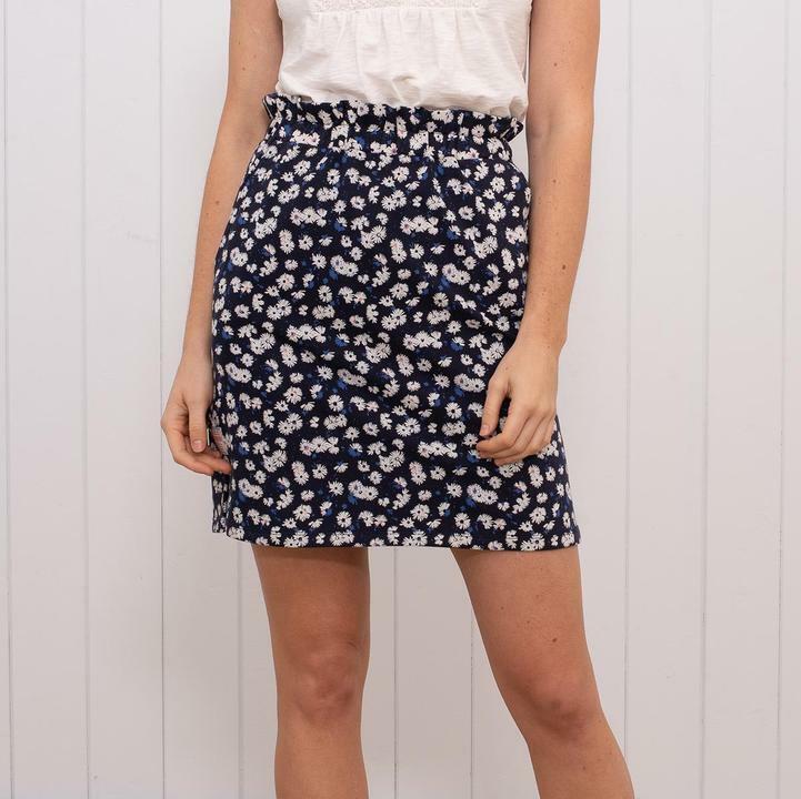 Brakeburn Aster Daisy Skirt - Navy - Sizes 8 10 12 14 - BNWT