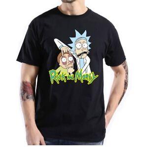 Rick and Morty T-Shirt Funny Anime TV Series Adult Swim Comedy Men Women Unisex
