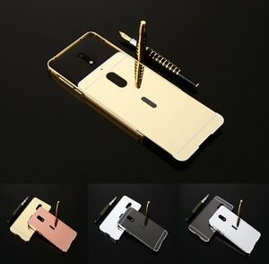 1ccea5c3282 HOT New-For Nokia 6 Luxury Aluminum Metal Bumper Frame+Mirror Back ...