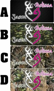 Personalized-Monogrammed-Custom-Browning-Aluminum-License-Plate-6-x-12-HUNTING