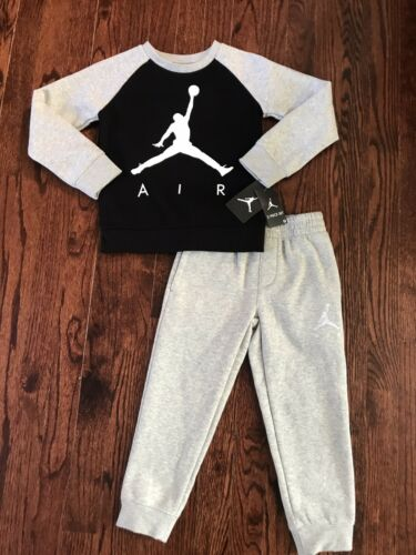 855660 NWT$44 BOY/'S NIKE AIR JORDAN FLEECE SWEATSHIRT /& SWEAT PANTS SET