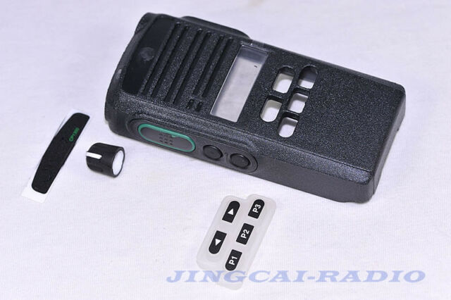 Front Outer Case Housing Cover Shell Refurb Kit For Motorola CP1300 Radio