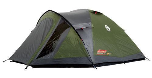 Coleman Darwin 4 + Plus 4 man tent family festival camping