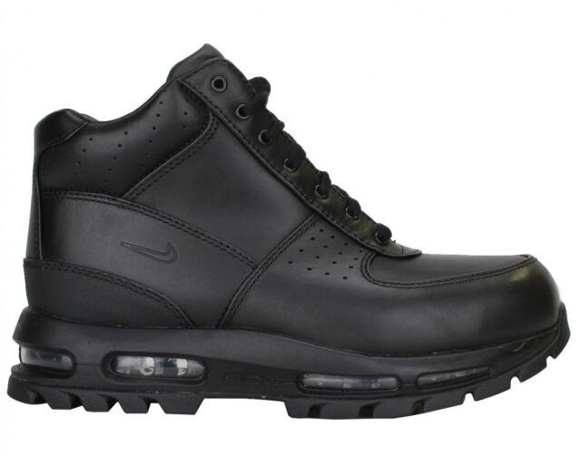 size 40 ba597 57091 599474-050 Men s Nike Air Max Goadome 2013 Boots!! BLACK  BLACK