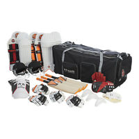 Ram Cricket Club Team Kit Bundle - Mini - Bats, Pads, Gloves, Bag & More