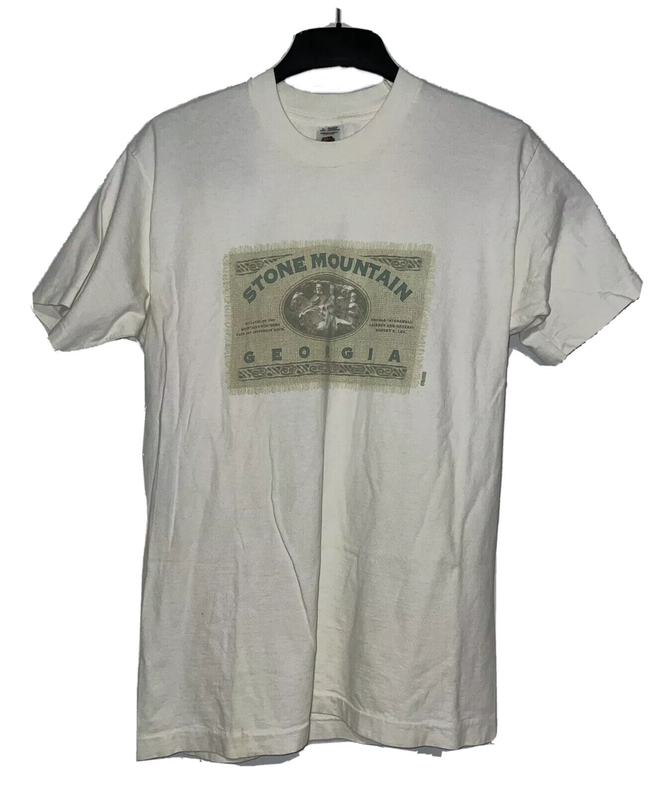 Vintage 90s Stone Mountain Shirt XL Atlanta Georgia National Park Outdoor Adventure X Large TShirt