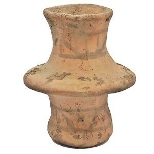 Middle-Eastern-Clay-Pottery-Jar-Artwork-Antique-Style-peint-design-reste