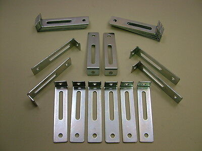 """Pack of 24 adjustable kitchen unit cabinet fixing """"L ..."""