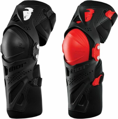 MX Dirtbike ATV Offroad Thor Adult Force XP Knee Guard Set