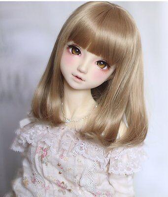 Bjd Doll Wig 1//6 6-7 Dal Pullip AOD DZ AE SD DOD LUTS Dollfie greenToy// Hair