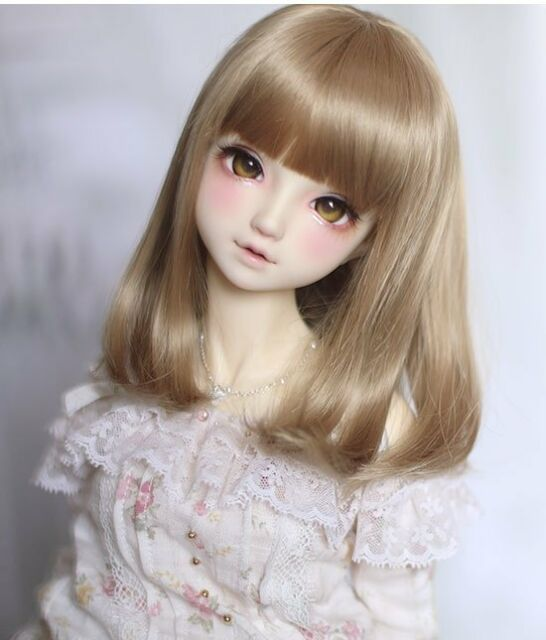 Bjd Doll Wig 1//4 7-8 Dal Pullip AOD DZ AE SD DOD LUTS Dollfie purple Toy Head