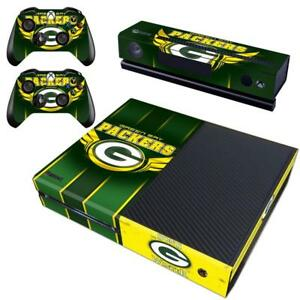 Acheter Pas Cher Xbox One Kinect Controller Skin Nfl Green Bay Packers Vinyl Skin Stickers Decal