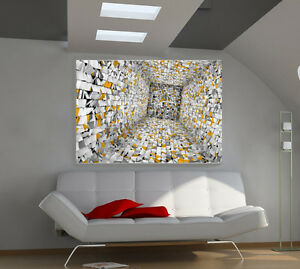 Unreality large giant 3d poster print photo mural wall art for 8 sheet giant wall mural