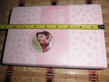 Biblia Para presentación o Dedicación Bebé, niña color rosado Reina Valera 1960.