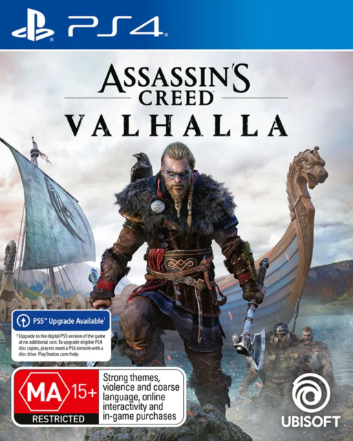 Assassins Creed Valhalla PS4 Game NEW