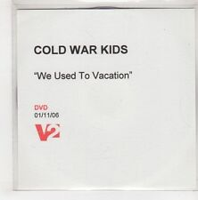 (GU661) Cold War Kids, We Used To Vacation - 2006 DJ DVD