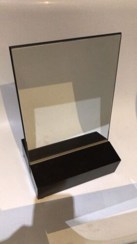 Wood Free Standing Folding Bathroom Dressing Table Mirror Make Up