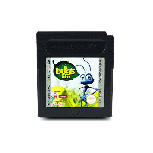 GBC nintendo Gameboy Color Juego a Bug's Life - la Gran Krabbeln