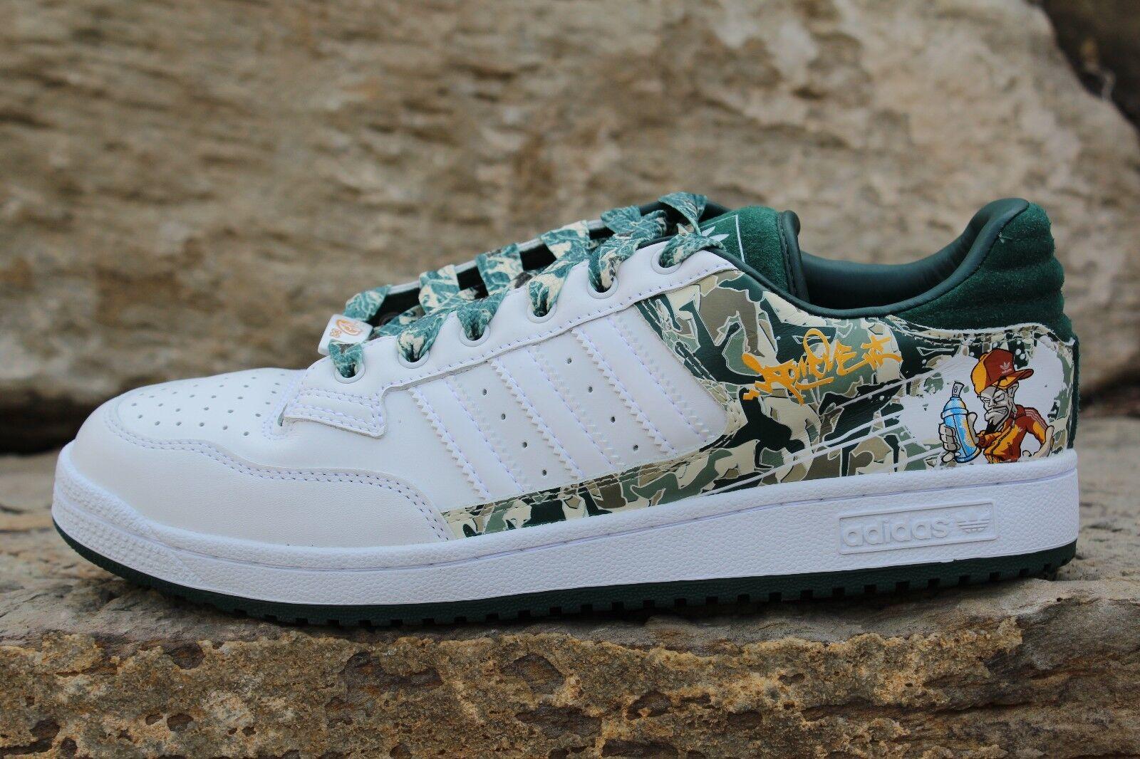 15 nouveaux   adidas originaux centennial lo a1  c2 Blanc  a1 skater chaussures taille 9 - 12 c39e69