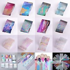 12x/set Starry Sky Nail Foils Stickers DIY Manicure Transfer Sticker Nail Decor