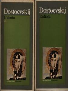 Dettagli su L'IDIOTA. 2 VOLUMI DOSTOEVSKIJ FEDOR GARZANTI LIBRI 1973