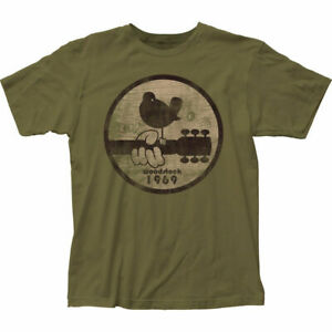 Woodstock-1969-Official-Adult-Men-or-Women-Military-Green-T-Shirt