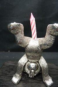 Image Is Loading NAUGHTY BIRTHDAY CANDLE HOLDER BAD TASTE BEARS METAL