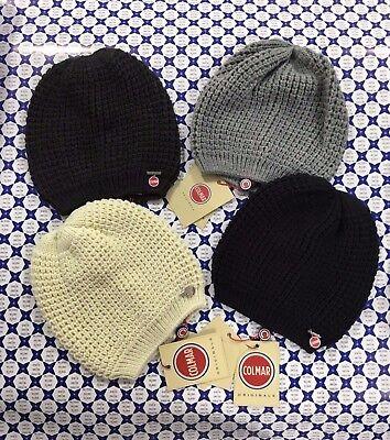 Cappello Berretto Lana Colmar Donna - Ciondolo Logo Boku - Vari Colori -  4810 63e6c0da9922