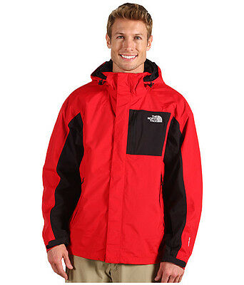 The North Face Varius Guide Mens Jacket small red NEW NWT Waterproof