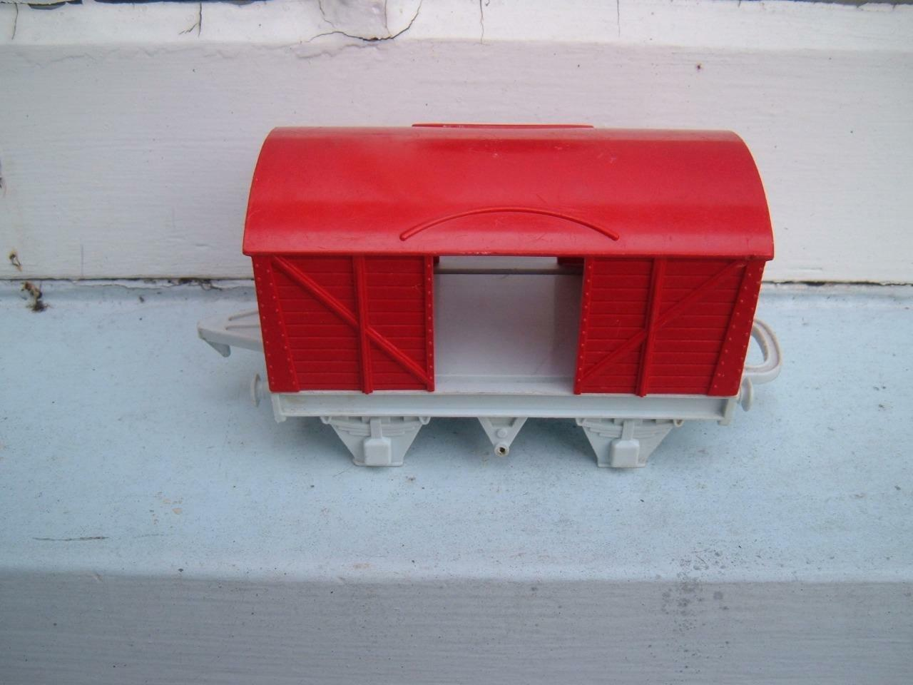 O GAUGE HORNBY PERCY RED CONTAINER CONTAINER CONTAINER VAN MISSING WHEELS & DOORS abaefd