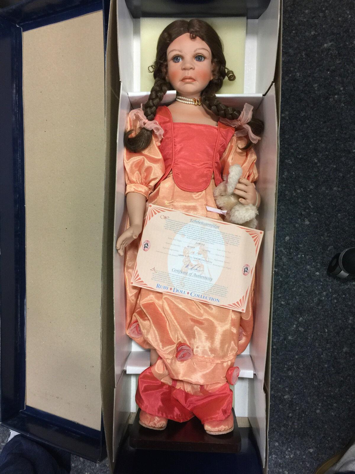 outlet online MONIKA LEVENIG bambola di porcellana porcellana porcellana Marissa 73 cm n. 1    EDIZIONE LIMITATA  caldo