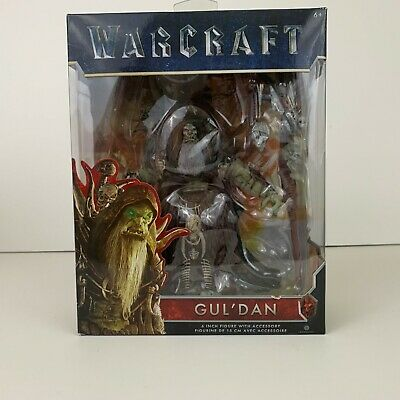 World Of Warcraft GUL/'DAN Action Figure Guldan with Staff 6-inch **NEW**