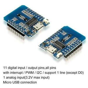 NodeMCU Lua ESP8266 ESP-12 WeMos D1 Mini WIFI 4M Bytes Development Board Prof
