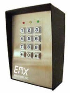 Digital Keypad Gate Entry Systems Emx Kpx 100 Keypad