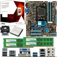 AMD X4 Core FX-4300 3.8Ghz & ASUS M5A78L-M USB3 & 16GB DDR3 1600