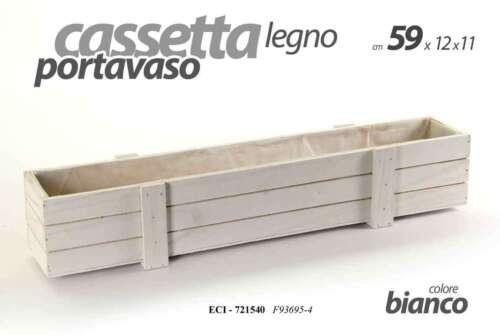 721540 Cassette portavaso Door White Vase 59*12*11 cm ECI