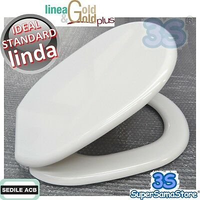 3s Sedile Tavola Copriwater Per Wc Linda Ideal Standard Acb Ercos Gold In Legno Alta Qualità