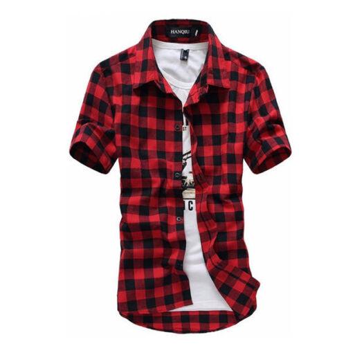 Camisa de hombre camisas de Moda manga corta camisa de Los hombres Casual Estilo