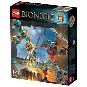 Lego Bionicle - 70795 Le Créateur De Masque Contre Crâne Broyeur Neuf