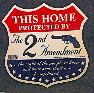 034-This-Home-Protected-by-the-Second-Amendment-034-Sign-and-Decals-w-Free-Stickers