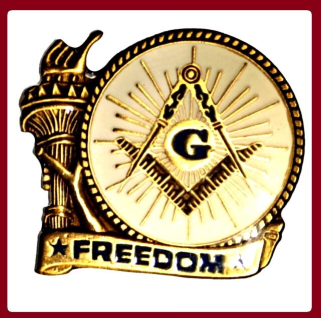 Freemason Master Mason Masonic Lapel Pin