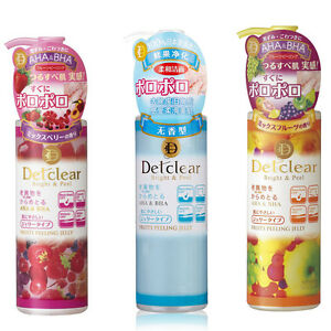 Meishoku-Detclear-Bright-amp-Peel-Fruits-Peeling-Jelly-180ml-from-Japan