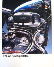 1978 1979 Harley Davidson Sportster Brochure, XLH XLCH 1000 Original
