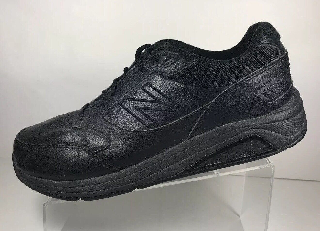 New Balance 928v3 - Walking Motion Control Leather Sneakers Men's 10.5 4E Black