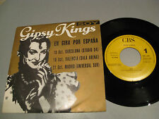 "GIPSY KINGS SOY EN GIRA POR ESPAÑA BARCELONA,VALENCIA,MADRID 7""PROMO SINGLE"