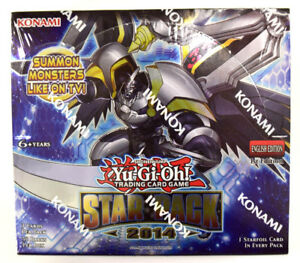 Yu-gi-oh-Yugioh-Star-Pack-2014-Factory-Sealed-1st-Edition-English-Booster-Box