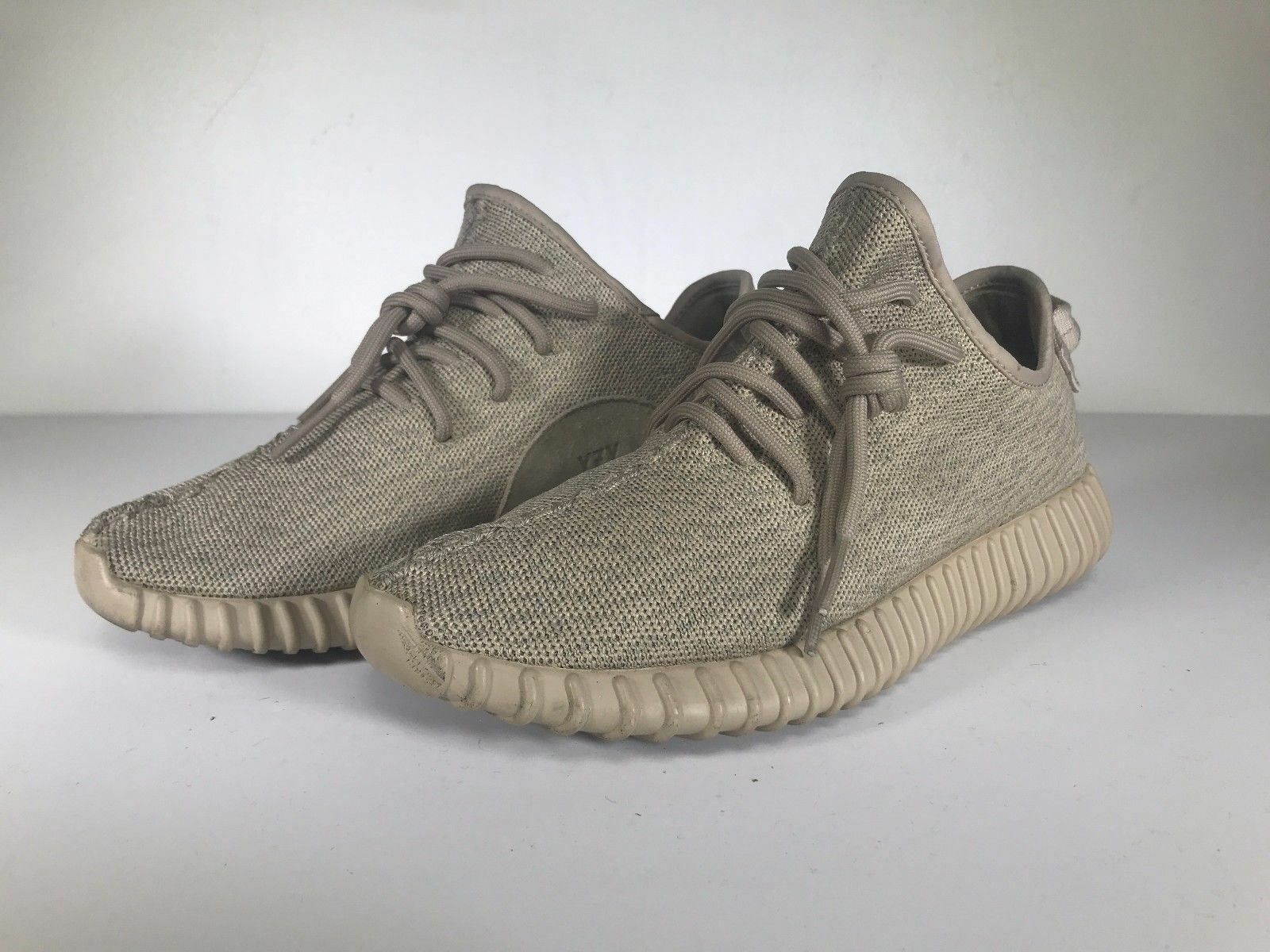 Pre-Owned Adidas Yeezy 350 Boost Oxford Tan Sneakers