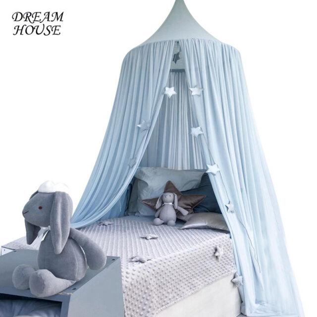 Brand Drape Canopy Mosquito Net Holder Pole Baby Nursery Cot Bed Crib Cradle