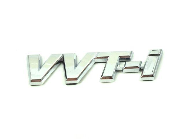 Genuine New TOYOTA VVT-i WING BADGE Fender For Corolla Verso 2001-2004 VVTi 1.8